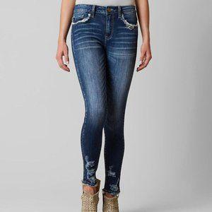 KanCan Jeans Dark Wash Distressed